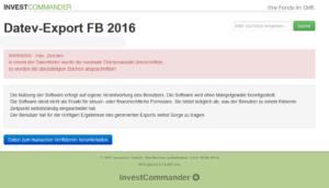 Datev Export 2016 Export