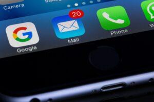 Benachrichtigung am Smartphone für Email